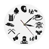xinxin Reloj de Pared Weld Life Welder Reloj de Pared...