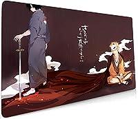 Naruto/アニメ漫画のマウスパッド、特大バージョン、防水、滑り止め、防汚、eスポーツゲーム、コンピューターワイヤレスオフィスホームゲーミングマウスパッド-E_900x300x3