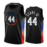 FGRGH New York Knicks Jacob Evans #44 Jersey, 2021 New Season - Camiseta de baloncesto para hombre, estilo retro, unisex, para exteriores, talla XL