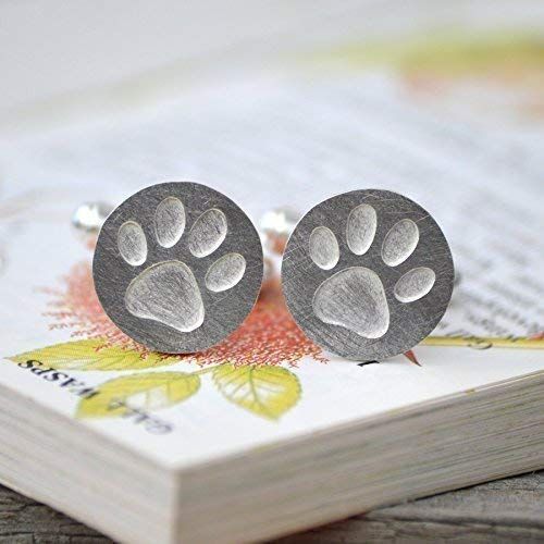 Pawprint Cufflinks in Max 47% OFF Sterling Max 81% OFF Silver Solid