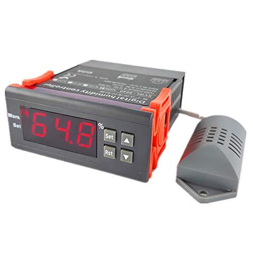 EVTSCAN Ultimo SVWL-8040 AC220V Regolatore di umidità Digitale Sensore di umidità ad Alta precisione con Schermo a LED per umidificatore Deumidificatore Frigoriferi per farmaci Armadi ombreggianti