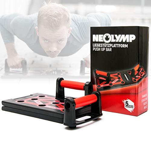NEOLYMP 12 in 1 Premium Liegestützplattform/Armtrainer für den Profisportbereich |5 Jahre Garantie | |schonend für die Handgelenke