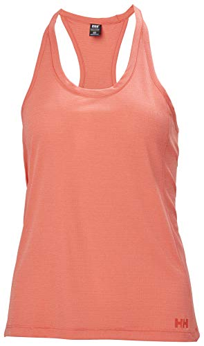 Helly Hansen W Verglas Pace Singlet Camiseta, Mujer, Coral Oscuro, S