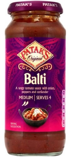 Patak's Balti Curry Sauce 425g.