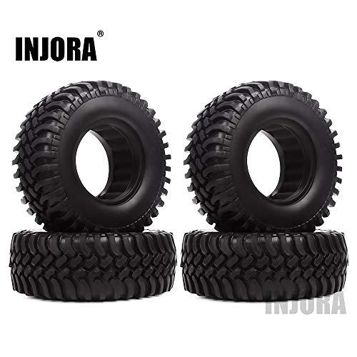 INJORA RC Reifen 4 Stücke 1,9 RC Crawler Reifen Reifen Set für 1:10 RC Rock Crawler Axial SCX10 D90 D110 Tamiya CC01