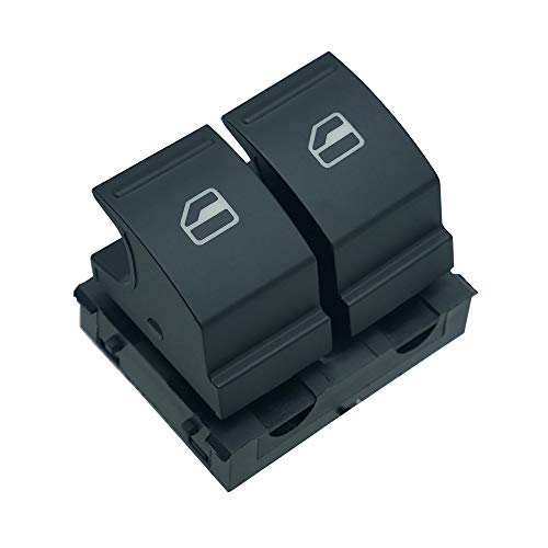NFSpeeding botonera elevalunas Interruptor de Botón de Ventana eléctrica 1K3959857 para Golf Mk5 Caddy Passat Jetta