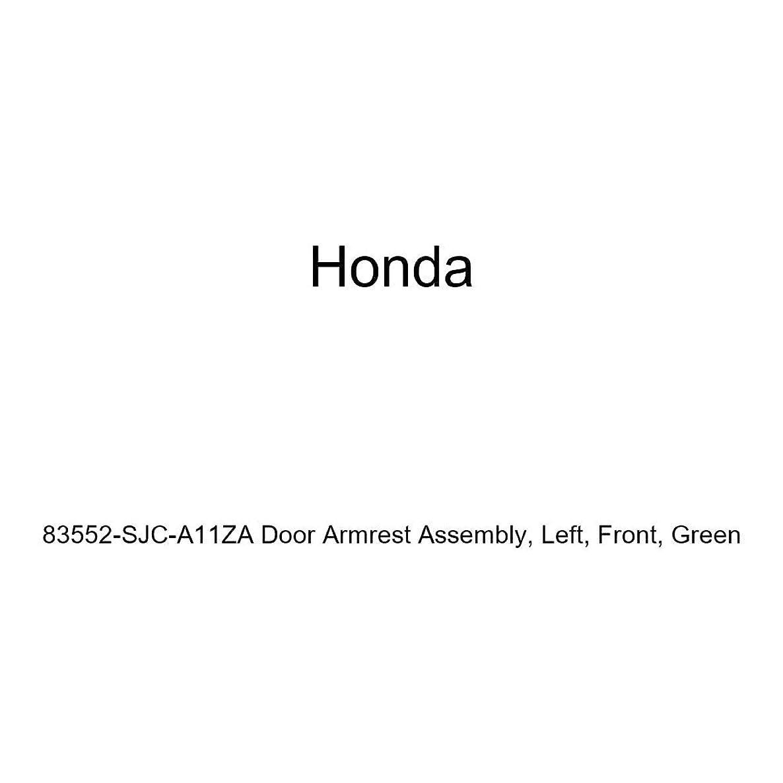 Honda Genuine 83552-SJC-A11ZA Door Armrest Assembly, Left, Front, Green