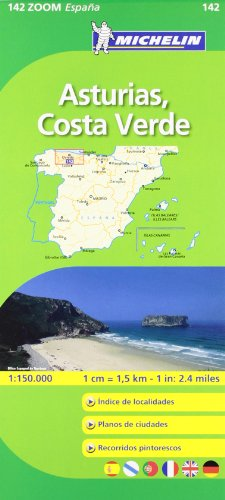 Mapa Zoom Asturias, Costa Verde (Mapas Zoom Michelin)