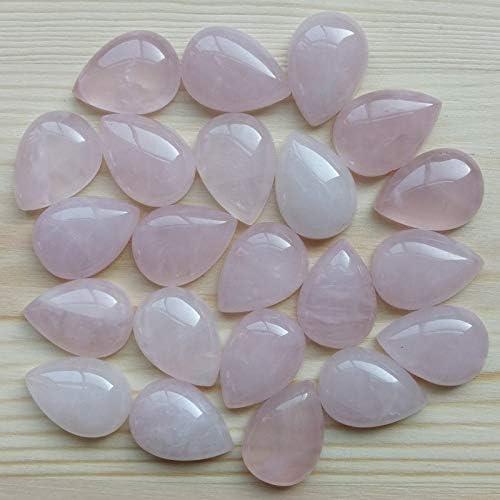 BD-17569 DIY Beads 13x18mm Time sale Topics on TV Pink B Crystal Natural Teardrop Stone