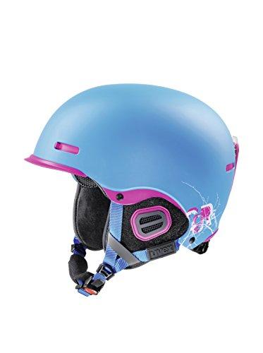 Uvex Hlmt 5 Pro Helm, Cyan/pink Mat, S (52-55 cm)