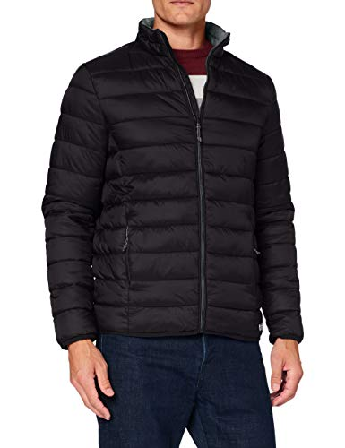 Springfield 958123 Quilted Jacket, Negro, S Mens