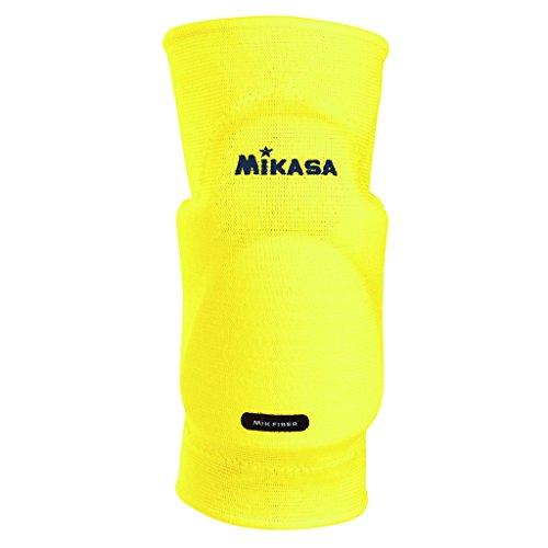 Mikasa Kobe MT6-0016JR, Ginocchiere Taglia Unica Junior, Colore Giallo (Neon Yellow)