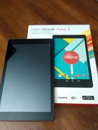 "Nextbook Ares 8"" Tablet 16GB Intel Atom Z3735G Quad-Core Processor - Red"