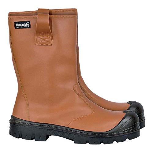 Cofra BRC-LIBERIA 47 Ground Liberia Zapatos de seguridad, talla 47, paquete de 10