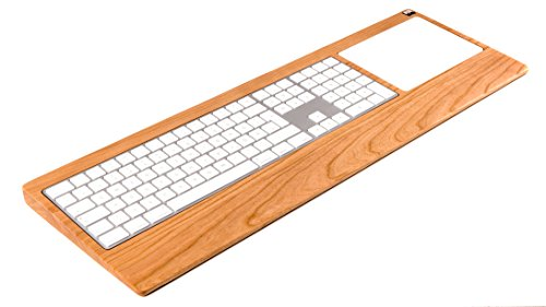 Woody's Numeric TrackpadTray aus Kirschbaumholz