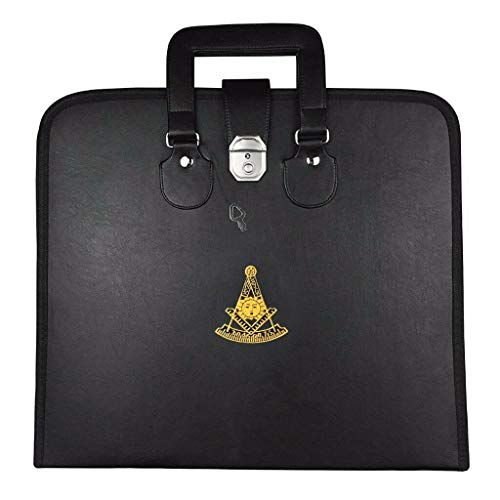 Masonic MM/WM and Provincial Full Dress Apron Past Master Cases-Provincial Full Dress Case (17x19 inch)