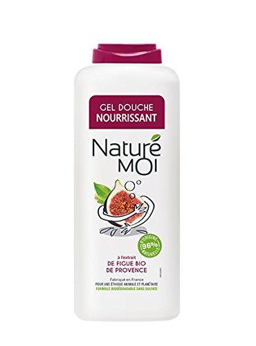 Naturé Moi – Gel douche à l'extrait de figue bio de Provence – Hydrate et nourrit les peaux normales à sèches, 400ml