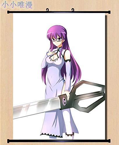 Imágenes Decorativas japonesas Anime Akame Ga Kill! Personaje Sexy Girl Chelsea & Sheele & Mine Decoración para el hogar Póster de Desplazamiento de Pared 50x70cm 5