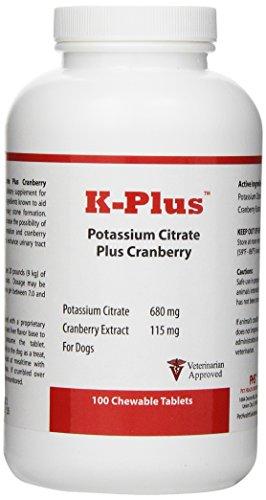 K-Plus Potassium Citrate Plus Cranberry (100 Tabs)