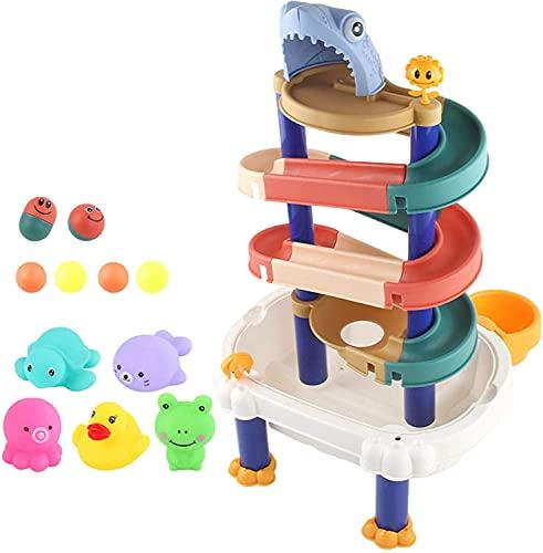 Juguetes para niños Autismo Aventura Juguetes, Juguetes de baño para niños, Pistas de bola de la banda de agua de DIY, Juguetes de Tina de la bañera, Juguetes de DIY Libre Juguetes de Agua de Verano,