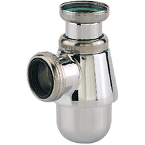 Siphon de lavabo chromé réglable - 11/4 - Ø 32 mm - Valentin