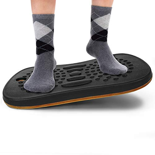 Yes4All Wobble Balance Board for Standing...