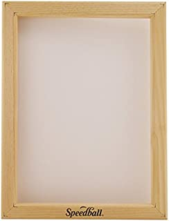 Speedball 10 Monofilament Screen Printing Frame, 10-Inch-by-14-Inch