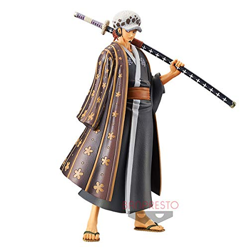 Banpresto. One Piece Figure Trafalgar Law DXF Figure The Grandline Men Wano Country Vol.3 SUBITO Disponibile!
