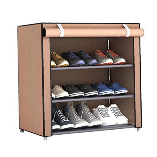 Hiinice Armario de Almacenamiento de Calzado DIY Simple Zapatero Dormitorio recibidor Mueble Modular Plegable portátil a Prueba de Polvo