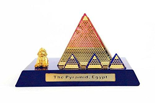 KOLAMBAS The Pyramid Of Egipto Cristal Egipto Culturado ShowpieceHome Decorativo de recuerdo de regalo o regalo corporativo