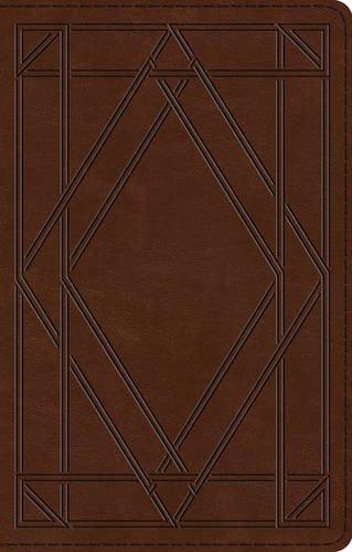 ESV UltraThin Bible (TruTone, Chestnut, Wood Panel Design)