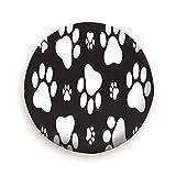 Sunwd Ersatzradabdeckungen, Dog Paw Footprint Animals Spare Wheel Tire Cover