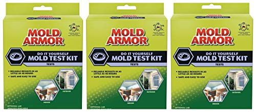 Mold Armor FG500 Do It Yourself Mold Test Kit (Pack of 3)