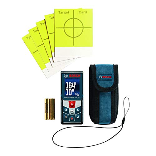 Bosch GLM 50 C Bluetooth Enabled Laser Distance Measurer with Color Backlit Display by Bosch