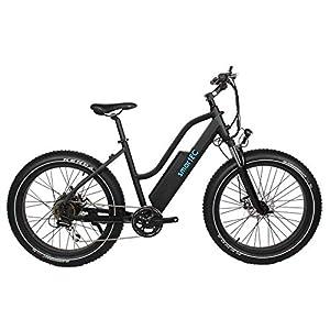 smartEC RockX-26T Trekking Fat Pedelec E-Bike Elektrofahrrad E-Cruiser 26 Zoll Samsung 48V/14AH, Fahrunterstützung bis zu 25km/h, leistungsstarker Heckmotor