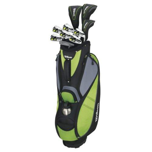 Wilson, Set completo para principiantes, 10 palos de golf con bolsa y...