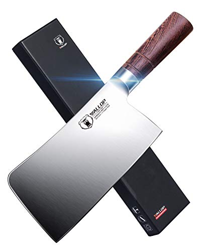 Wallop Chinese Chopper Meat Cleaver Knife 7.5 inch - German...