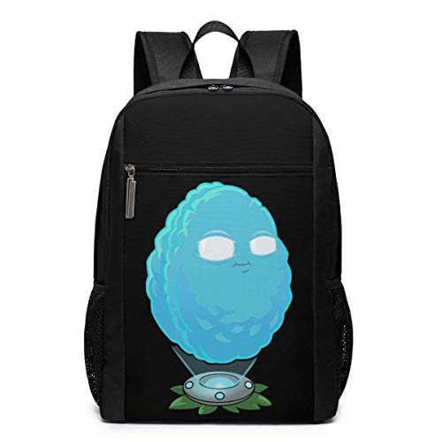 Hdadwy Funny Fashion Adult Plants Vs Zombies Silhouette Printed Backpack Black