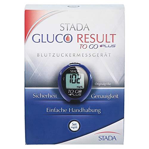 Stada Gluco Result to go plus Blutzuckermessger�t mg/dL, 1 S