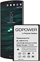 LG V10 Battery, GDPower 4300mAh High Capacity 0 Cycle Battery BL-45B1F Replacement for LG V10 H960A H961N VS990 (Verizon), H900 (AT&T),H901(T-Mobile), V10 Spare Battery
