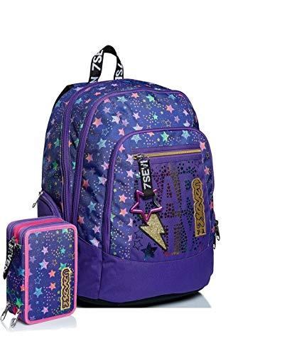 Schoolpack Seven Advanced Dance Party Viola+ Estuche 3 cremalleras completo
