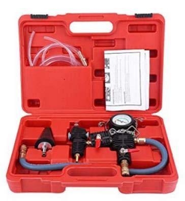 Coolant System Kit de Pompes de Refroidissement pour Recharge de radiateur pour Voiture Rouge