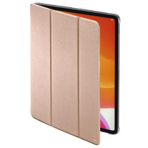 Hama Hülle für iPad Air 2020 10,9 Zoll (aufklappbares Hülle für Apple Tablet, Schutz-Hülle mit Standfunktion, durchsichtige Rückseite, magnetisches Cover mit Auto Wake/Sleep Funktion) rosa