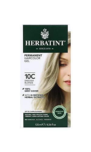 HERBATINT® PERMANENTES PFLANZLICHES HAARFÄRBEGEL (10C - Schwedisches Blond) 1 oder 2 Anwendungen