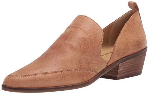 Lucky Brand Women's MAHZAN Loafer, Tan, 8 M US