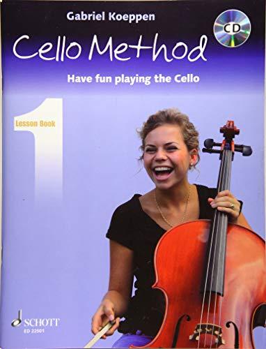 Cello Method: Lesson Book 1: Have fun playing the Cello. Book 1. Violoncello. Lehrbuch mit CD. (Koeppen Cello Method)