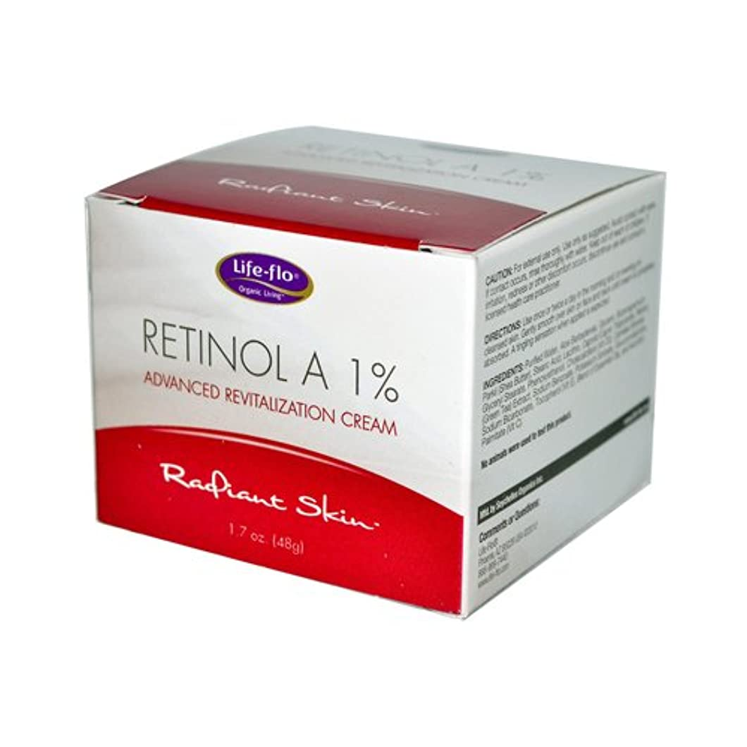 褐色信仰策定する海外直送品 Life-Flo Retinol A 1% Advanced Revitalization Cream, 1.7 oz