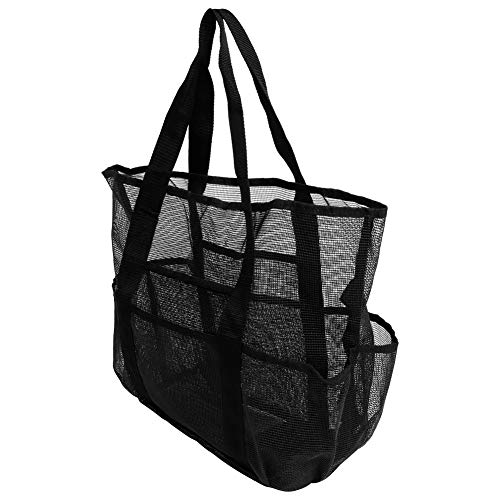 NATRUSS Storage Bag, Portable Large Capacity Travel Bags Multi-functional Luggage Bags, Beach Bag Mesh Storage Bag for Outdoor Travel