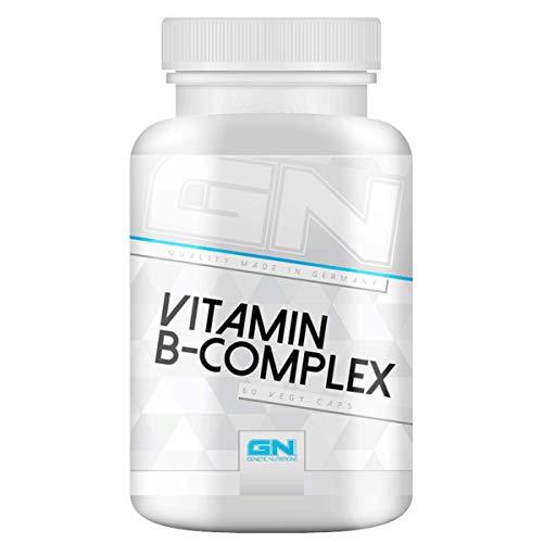 GN Laboratories Vitamine B - Complex Meneralien Unterstützt Den Stoffwechsel 60 Vegane Kapseln