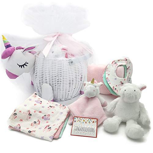 Baby Shower Gifts - New Baby Newborn Essential Gift Basket, Beautiful...
